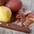 hámozott · krumpli · kés · egészséges · organikus · fából · készült - stock fotó © marylooo