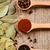verde · caril · folhas · fresco · isolado - foto stock © marylooo