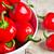 rojo · verde · tazón · grupo · pimienta - foto stock © marylooo