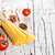uncooked pasta with tomatoes and spices stock photo © marylooo