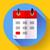 calendário · móvel · aplicativo · organizador · ícone · projeto - foto stock © marysan