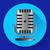 vintage metal studio microphone icon vector stock photo © marysan