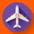 repülőgép · navigáció · ikon · gyűjtemény · kék · szürke · színek - stock fotó © marysan