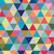seamless retro pattern of geometric shapes colorful mosaic backdrop stock photo © marysan