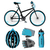 outdoor · mountainbike · logo · scherp · moderne · beide - stockfoto © marysan