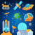 space icons set flat style vector stock photo © marysan