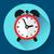 alarm clock icon stock photo © marysan