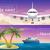 álom · kék · repülőtér · hajó · felhő · légy - stock fotó © marysan