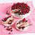 kremsi · tatlı · kek · yaban · mersini · ahududu · çikolata - stok fotoğraf © marysan