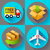 shipping and delivery icons set flat design style stock photo © marysan