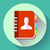adress phone book icon notebook icon flat design style stock photo © marysan