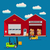 warehouse infographic vector flat design stock photo © marysan