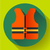 life safety jacket vest icon flat 20 vector stock photo © marysan