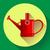 watering can icon irrigation symbol flat vector illustration stock photo © marysan