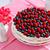 romig · zoete · cake · bosbessen · frambozen · chocolade - stockfoto © marysan