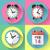 reloj · establecer · oficina · digital · temporizador · cronógrafo - foto stock © marysan