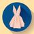 девушки · силуэта · платье · вектора · изображение · изолированный - Сток-фото © marysan