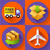 shipping and delivery icons set stock photo © marysan