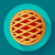 torta · di · mele · vettore · icona · stile · alimentare · mela - foto d'archivio © MarySan