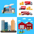 ingesteld · stad · infographics · stijl · boom · weg - stockfoto © marysan