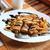 pannenkoeken · gevuld · bananen · sinaasappelen · pure · chocola · voedsel - stockfoto © MarySan