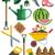 gardening icons set stock photo © marysan