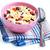reggeli · gabonafélék · bogyós · gyümölcs · fehér · joghurt · tál - stock fotó © marysan