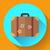 avión · viaje · maleta · mundo · blanco · fondo - foto stock © marysan