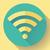 wifi free internet connection icon flat design style stock photo © marysan