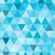 seamless retro pattern of geometric shapes blue mosaic backdrop stock photo © marysan