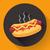 vector hot dog illustration flat design style stock photo © marysan