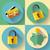 ключевые · икона · белый · интернет · домой · веб - Сток-фото © marysan