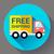автомобилей · судоходства · икона · быстро · бесплатная · доставка · дизайна - Сток-фото © MarySan