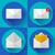 post · dienst · web · icons · gebruiker · interface - stockfoto © marysan