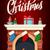 karácsony · kandalló · szoba · éjszaka · tűz · belső - stock fotó © marysan