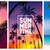 Summer tropical backgrounds set with palms, sky and sunset. Summer placard poster flyer invitation c stock photo © MarySan