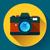 foto · fotocamera · icona · design · nero · simbolo - foto d'archivio © marysan