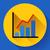 business diagram chart vector icon modern flat 20 style stock photo © marysan