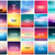 big set of 20 square blurred nature backgrounds with various love quotes stock photo © marysan