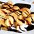 pannenkoeken · gevuld · bananen · sinaasappelen · pure · chocola · chocolade - stockfoto © MarySan