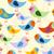 aranyos · absztrakt · madarak · gyűjtemény · izolált · fehér - stock fotó © maryvalery