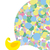 孔雀 · 装飾的な · 美しい · 漫画 · 実例 · 孤立した - ストックフォト © maryvalery