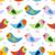 vektör · sevimli · karikatür · kuşlar · kahverengi - stok fotoğraf © maryvalery