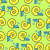 snail seamless pattern vector background with clam shells chee stock photo © maryvalery