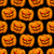 végtelen · minta · narancs · tökök · fekete · absztrakt · művészet - stock fotó © maryvalery
