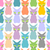 color cat seamless texture pattern of cute cats pet background stock photo © maryvalery