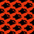 aggressive seamless pattern from piranha fish silhouettes with stock photo © maryvalery