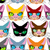 cats seamless pattern many different pets vector background of stock photo © maryvalery