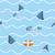 haai · aanval · Rood · witte · zee - stockfoto © maryvalery