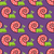 snail shell with pink on purple background seamless texture cut stock photo © maryvalery